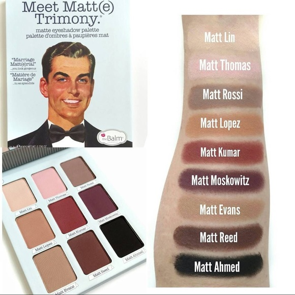 theBalm Other - The balm eyeshadow palette